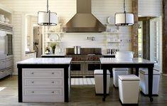 Tracery Interiors Lake House Alabama kitchen