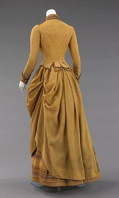 1880, 1885 dress, day dresses