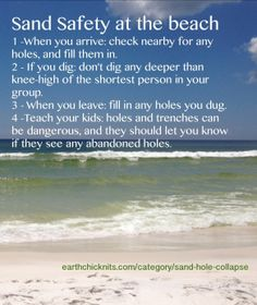 4 things every parent should know when taking a child to the beach