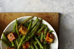 Spicy Green Bean and Tofu Stir-Fry