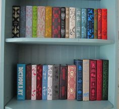 Penguin Classics Books. So lovely, and I wouldn't even have to read them!