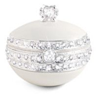 Romantic Porcelain Music Box With Swarovski Crystals   Today, Tomorrow, Always Music Box