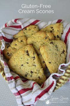 Gluten-Free Cream Scones