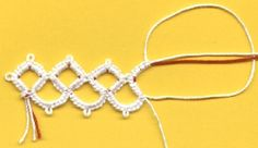 Tatting Square Rings