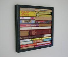 Book spine art.