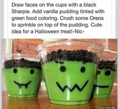Fun Halloween dessert