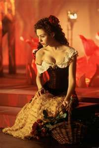 "Christine Daae ""point of no return"" Phantom of the Opera"