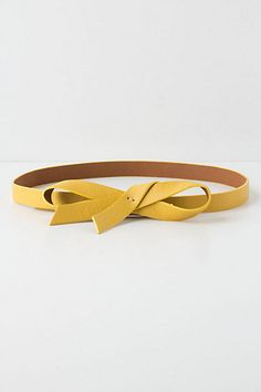 Slouchy Bow Belt #anthropologie