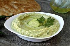 Zucchini hummus from Taste of Beirut; love this idea!
