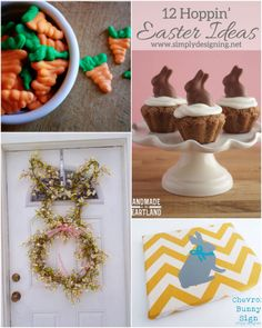 12 Hoppin' Easter Ideas | #easter #holiday #bunnies #crafts #diy #recipes