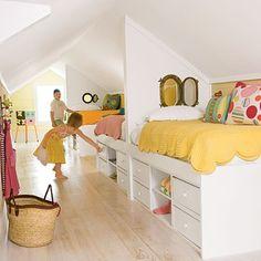 kid bedroom on the top floor