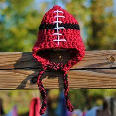University of Utah Utes Baby Football Hat