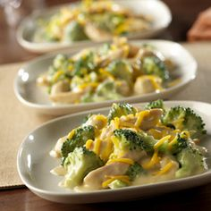 This is our go-to recipe when we need good food that can be ready really fast. It features a scrumptious combination of chicken, broccoli, cream of chicken soup and cheese - and it's ready in 20 minutes.