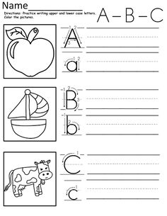 A-Z Tracing Sheets
