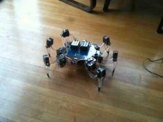 Wireless bluetooth arduino hexapod robot SPIDEE-1