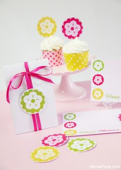FREE Mother's Day Printables with OnlineLabels.com by Bird's Party