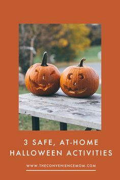 With Halloween right around the corner, parents may be looking for safe, at-home Halloween activities for their kids to do. Luckily, there are plenty of fun and traditional options for the entire family to participate in. #halloween #halloweenactivities #kidshalloween #halloweenathome