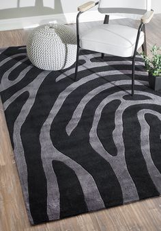 Rugs USA Keno Thumb Print Black Rug. Rugs USA Fall Sale up to 80% Off! Area rug, rug, carpet, design, style, home decor, interior design, pattern, trends, home, statement, fall,design, autumn, cozy, sale, discount, interiors, house, free shipping, Halloween, fall decorations, fall crafts, fall décor, great winter, winter, warm, furniture, art.