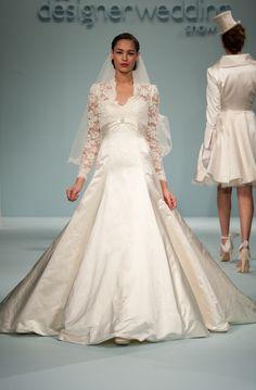 royal wedding dress inspired design for kate middleton by sassi holford.