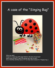"""Mormon mama on a mission: A bad Case of the """"Singing Bug"""" Music Time"""