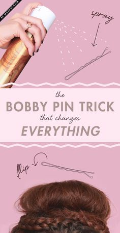 right way to use bobby pins