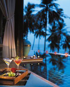 Welcome to your honeymoon 'happy hour.'