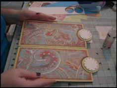 Scrapbook Tutorial - Kathryn's Paper Bag Mini Album, Video 4 of 5