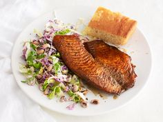 Blackened Tilapia With Black-Eyed Pea Salad from #FNMag
