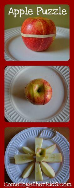 An apple puzzle?! #vitalicious #vitasummer