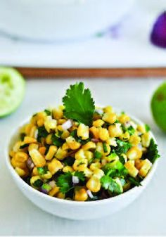 Corn Salsa – Delicious with tortilla chips!