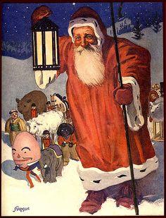 Santa & Humpty Dumpty