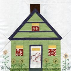 Free Pattern Home And Hearth - Paper Piecing