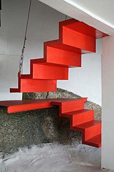 13 escadas de beleza escultural - Casa