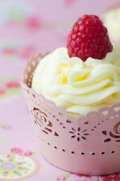 Cupcakes de Limón y Frambuesas