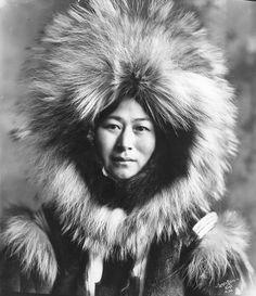 inuit woman from nowadluk, Alaska ~j