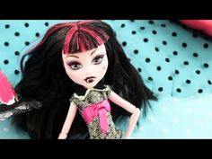 Draculaura Inspired Monster High Crafts 2014