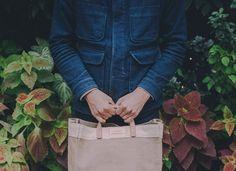 Indigo Wool Chore Jacket | Apolis