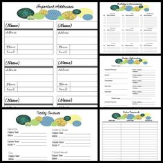 2014 Free Binder Printables ~  Pages include: *Schedule: >Calendar (yearly and monthly) >Cleaning Schedule >Meal Planner >Divider Covers *Contacts: >Birthdays & Anniversaries >Important Contacts >Utility Contacts >Doctor Information >Online Passwords *Maintenance: >Weekly To-Do List  >Auto Maintenance >Home Maintenance *Finance: Bill Tracker.  Downloads @: http://itsagingersnap.com/2013/11/2014-binder-printables/  Debt List and Monthly Budget