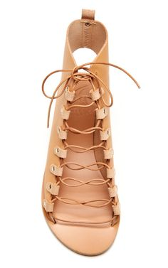 Lace-Up Leather Gladiator Sandals by Ancient Greek Sandals