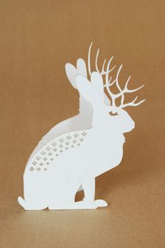 Jackalope Card by MakeATX