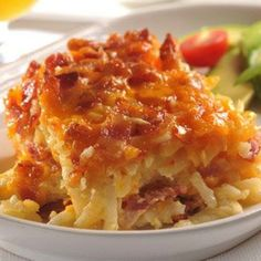 Potato Bacon Casserole - anything with bacon has to be good!!