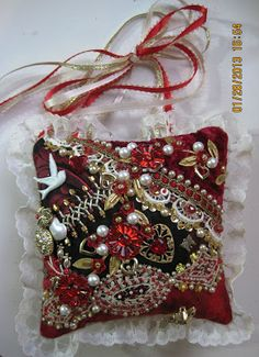 Crazy Quilt by Pamela Kellogg Kitty & Me Designs http://www.kittyandmedesigns.blogspot.com/