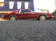 1982 Chrysler Imperial in red.  Very rare to find red on red.