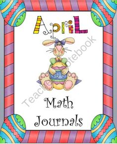 "April Everyday Math Journals Powerpoint from Our First Grade Treasures on TeachersNotebook.com -  (29 pages)  - Everyday Math Journals"" provides you at your fingertips a  month�s worth of quality daily math problems for your students to journal.  It uses a read it, draw it, write it method to help the students solve the daily problem."