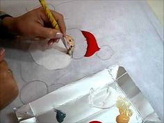 Pintura em Tecido - NOEL COUNTRY - How to paint Christmas