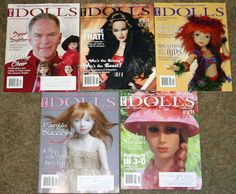 Set of Five Dolls Magazines Haute Dolls from 2013 and 2014 | eBay