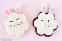 How to make Sweet Easter Bunny Cookies