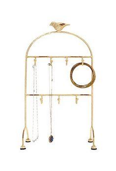 bird jewelry stand