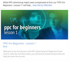 While PPC advertisin