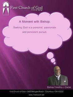 Seeking God is...
